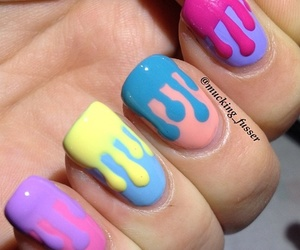 design, nails, and paint image