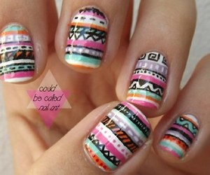cool, hipster, and nails image