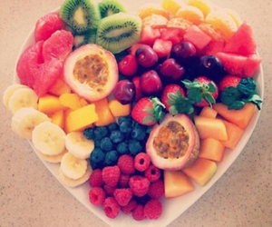 breakfast, fruit, and hipster image