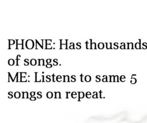 song, phone, and music image