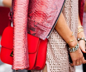 fashion, girly, and red bag image