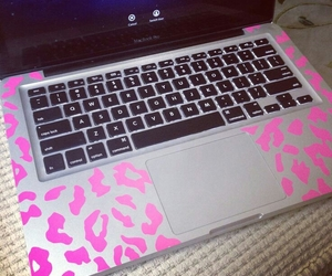 laptop and pink image