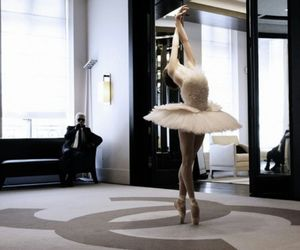 ballerina, chanel, and dance image