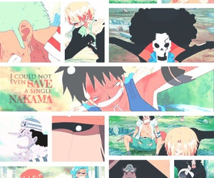 anime, brook, and chopper image
