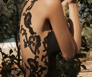 black, dress, and Couture image