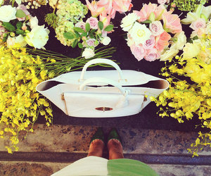 flowers and bag image