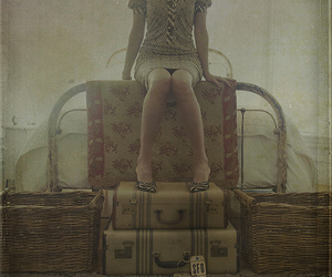 texture, suitcases, and guest room image