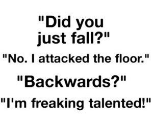 funny, fall, and quotes image