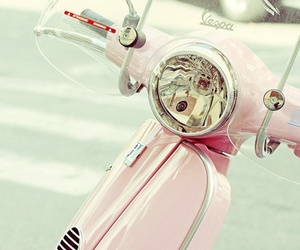bike, pink, and summer image