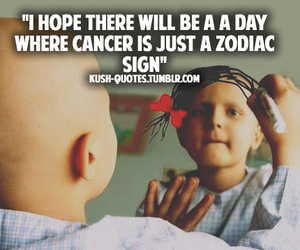 cancer, quote, and sad image