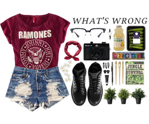 boots, clothing, and Polyvore image