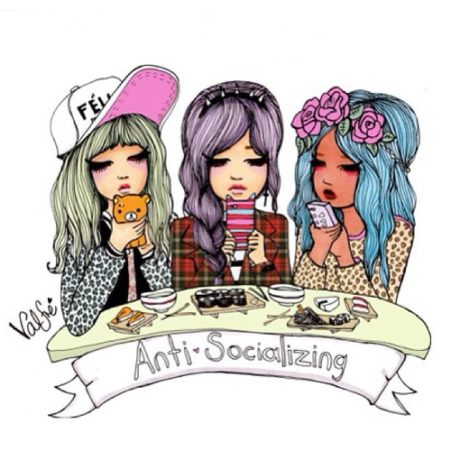 valfre, phone, and friends image