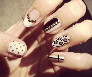 cool, nail, and fancy image