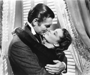 Gone with the Wind, clark gable, and vivien leigh image