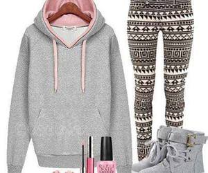 pink, outfit, and ugg image