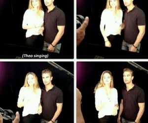 divergent, funny, and theo james image