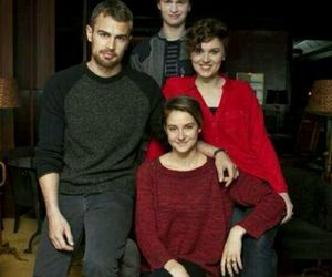 divergent, theo james, and veronica roth image