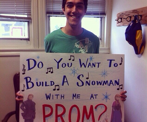 frozen, Prom, and love image
