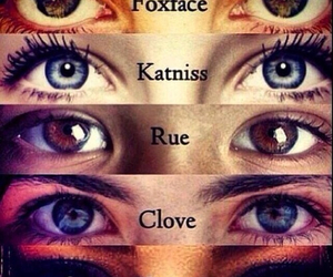 rue, foxface, and katniss image