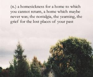 nostalgia, quotes, and home image