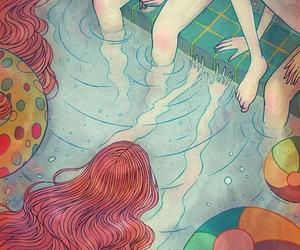 art, illustration, and girls image