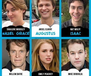 the fault in our stars, hazel, and augustus image