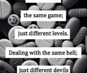 quotes, hell, and Devil image