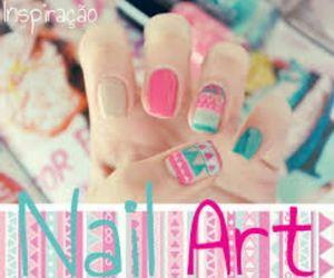 esmalte, nail art, and unhas image