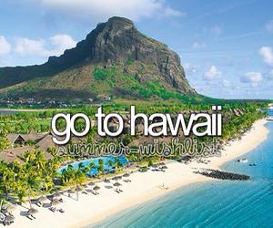 hawaii, beach, and Dream image