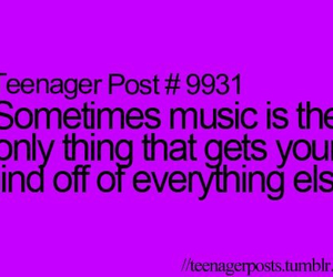 music, quote, and true image