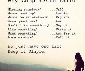 life, quotes, and simple image