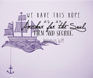 anchor, bible, and pretty image