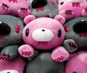 pink, cute, and gloomy bear image