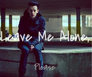 alone, the 1975, and leave image