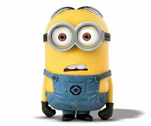 minion and love image