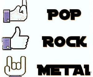 metal, rock, and heavymetal image