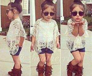 baby, fashion, and cool image