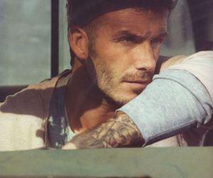 David Beckham, man, and tattoo image
