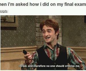 exam, funny, and true image