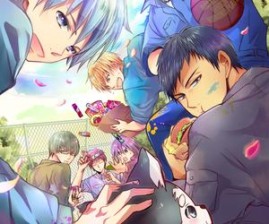 midorima, Akashi, and kagami image