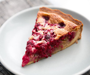 crust, raspberry, and tart image