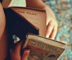 book, read, and travel image