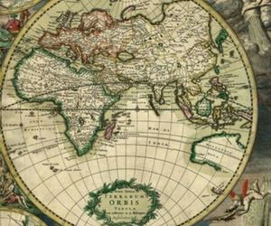 africa, maps, and travel image