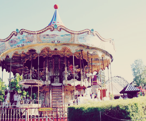 carousel and photography image