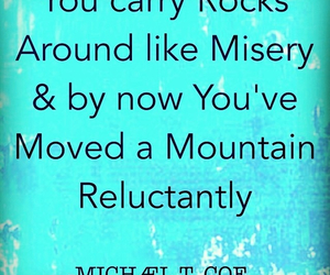 misery, poem, and quotes image