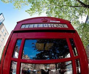 london, telephone, and photography image