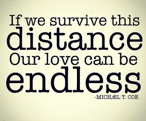distance, long distance, and love poem image