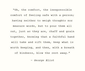 quote, comfort, and love image