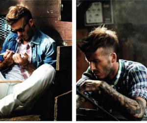 David Beckham, boy, and fashion image