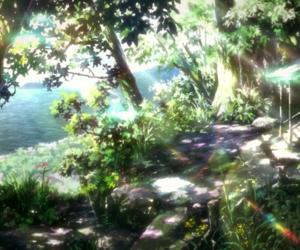 anime and nerawareta gakuen image